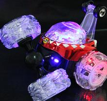 Трюк автомобиль с легкой музыки RC автомобиль дистанционного управления игрушка электрический танцы дамп-автомобиль мини-самосвал роллинг вращающееся колесо грузовой автомобиль