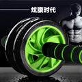Super Mute Double Abdomen Wheel Abdominal Exerciser Ab Roller Fitness Training Equipment Shape of Abs