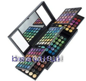 Best price 180 Colors Eyeshadow Palette makeup kit 3 Layer Eye Shadow Palette