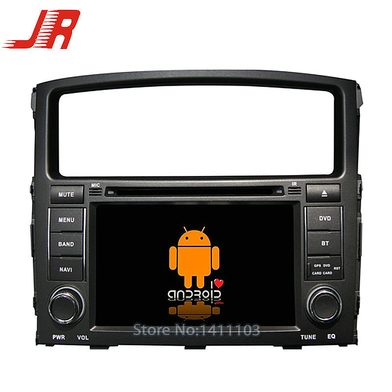 Quad Core Android 4.4 Car DVD GPS player FOR Mitsubishi Pajero V97/ V93 Quad Core A9 1.6GHz car audio car multimedia car stereo<br><br>Aliexpress