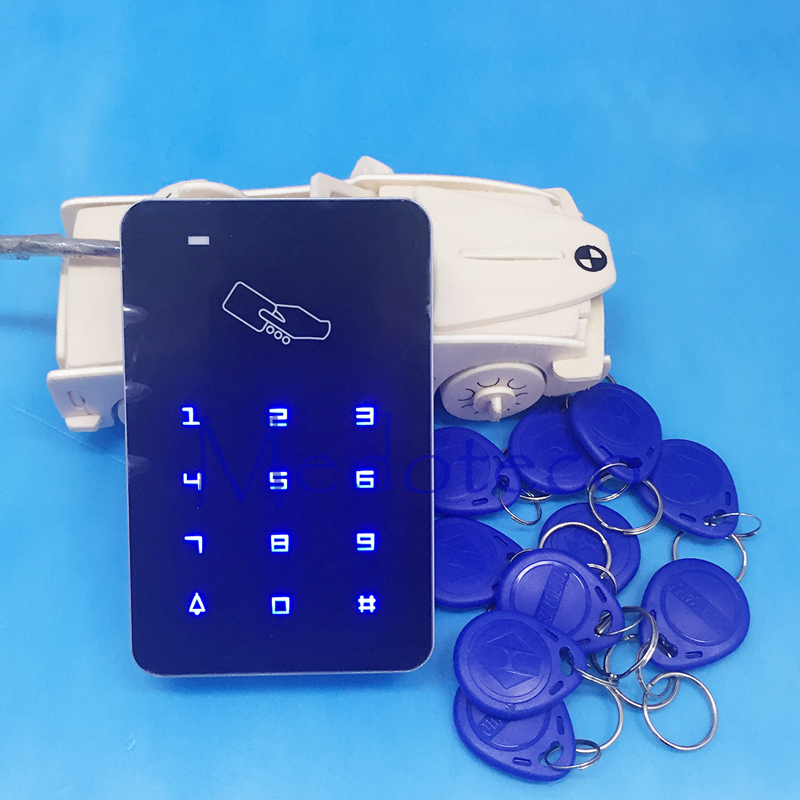 Free Shipping rfid access control rfid card access control touch keypad access control wiegand 26 input(Hong Kong)