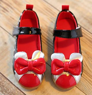 Childrens shoes spring 2016 girls bow princess single fashion leather shoes kids party shoes for girl ninas elsa 415b<br><br>Aliexpress