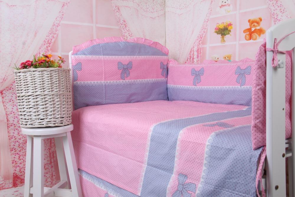 Baby Crib Bedding Set,5pcs Crib Bedding Sets for Baby Boys and Girls,edredones colchas infantil,Crib Bumper 120*60 120*65 120*70<br><br>Aliexpress