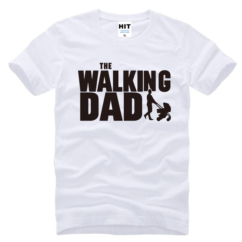 HTB1PyG1KFXXXXaoXpXXq6xXFXXXJ - The Walking Dad Fathers Day Gift Men's Funny T-Shirt T Shirt Men 2016 New Short Sleeve Cotton Novelty Top Tee Camisetas Hombre