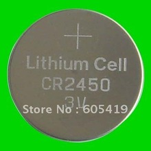 Buy 300pcs/Lot CR2450 battery,3V lithium button cell battery coin cells for $132.60 in AliExpress store