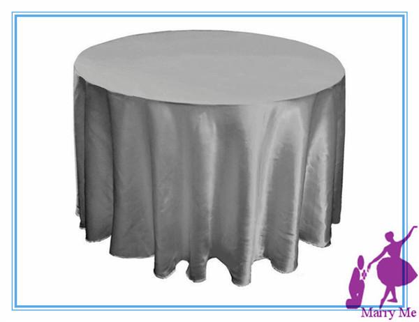 10pcs 90'' Tablecloths for Weddings Tablecloth Set Table Cloth Round Tablecloths Wedding Table Linens(China (Mainland))