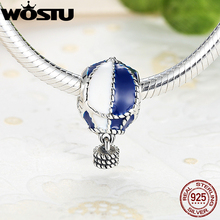 Buy Fashion 925 Sterling Silver Away Charm Fit Original Pandora Bracelet Necklace Authentic Jewelry for $7.49 in AliExpress store