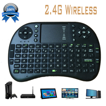 2015 hot sell Portable mini keyboard Rii Mini i8 Wireless Bluetooth 2.4G Keyboard with Touchpad for PC Pad Google Andriod TV