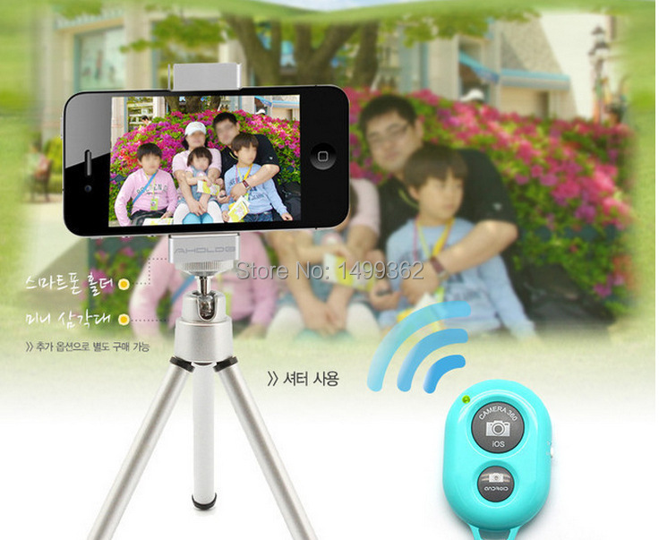 Bluetooth Self-Timer Shutter Release Camera Remote Controller for iPhone 5s 6 Samsung s5 s4 HTC Sony Z2 iOS/Andriod(China (Mainland))