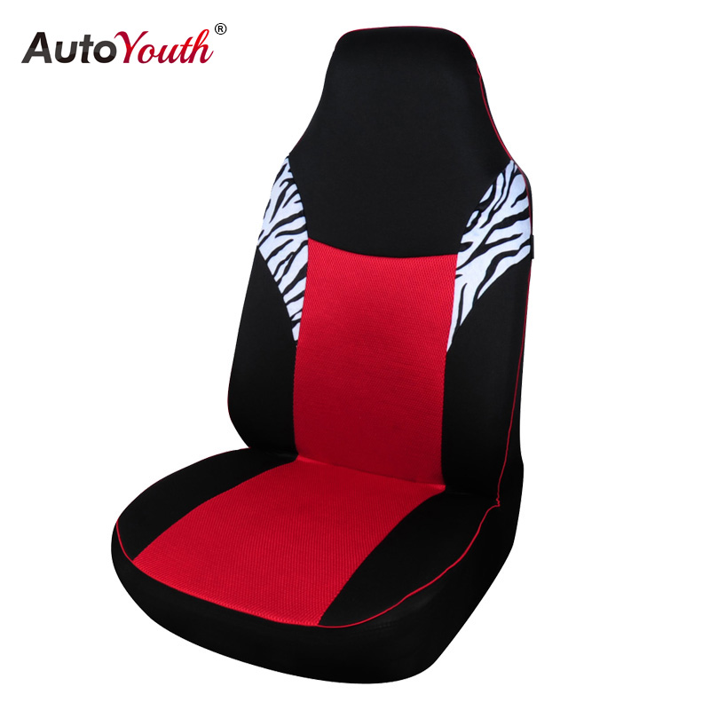 AUTOYOUTH Sandwich Cloth Classic Car Seat Cover Universal Fit Most Auto Seat Covers Red Styling Accessories Car Seat Protector(China (Mainland))