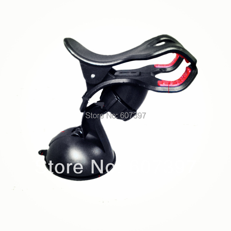 Universal 360 Rotating flexible vehicle automobile Car windshield suck mobile Smart phone holder mount for iphone 4 4S 5 5S 5C(China (Mainland))