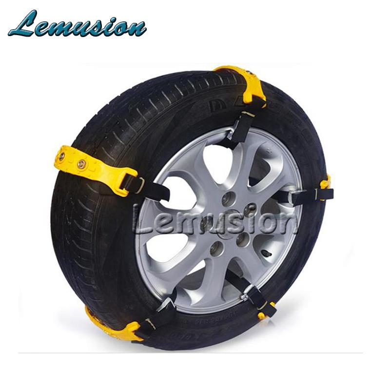 10X Car Wheel Tyre Anti-skid TPU Chains For Mitsubishi ASX Lancer 10 9 Outlander Pajero I200 For Infiniti Q50 FX35 G35 G37(China (Mainland))