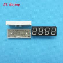 "10pcs 4 bit 4bit Digital Tube Common Anode Positive Digital Tube 0.56"" 0.56in. Red LED Display 7 Segment Digit(Clock))(China (Mainland))"