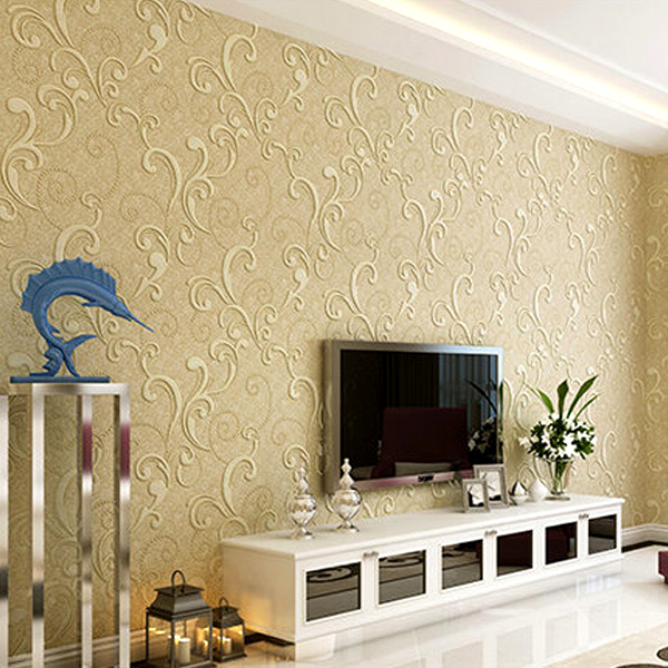 Interior design wallpaper reviews online shopping for Latest wallpaper design for bedroom
