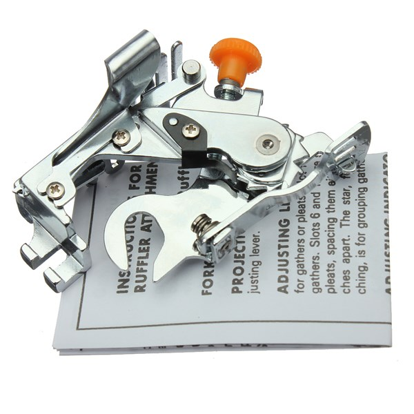 High quality Ruffler Presser Foot for Kenmore for Juki Low Shank Sewing Machine(China (Mainland))