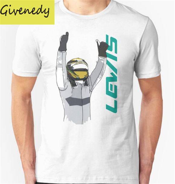 2016 New Arrival Summer Style Lewis Hamilton Printed T-Shirt Men Short Sleeve O-Neck Fashion Cotton T Shirts Plus Size S-2XL(China (Mainland))