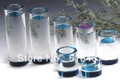 Glass crystal candle holder candlestick wedding gifts grace tealight home decoration holder candleholder(China (Mainland))
