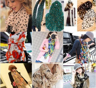 Chiffon scarf Korean female all-match 2014 wholesale summer air-conditioning shawls long trade scarves 46*cm*160cmОдежда и ак�е��уары<br><br><br>Aliexpress