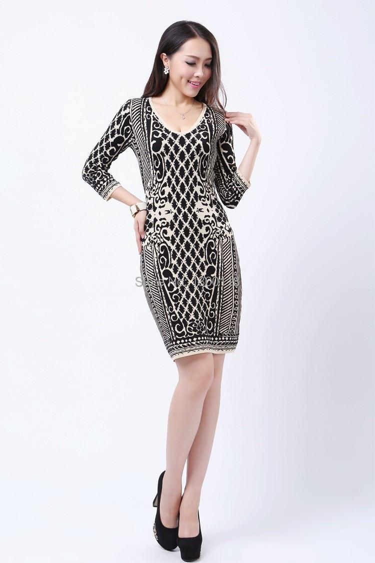 Dresses Patterns 2015 2015 Knit Dress Women Sweater