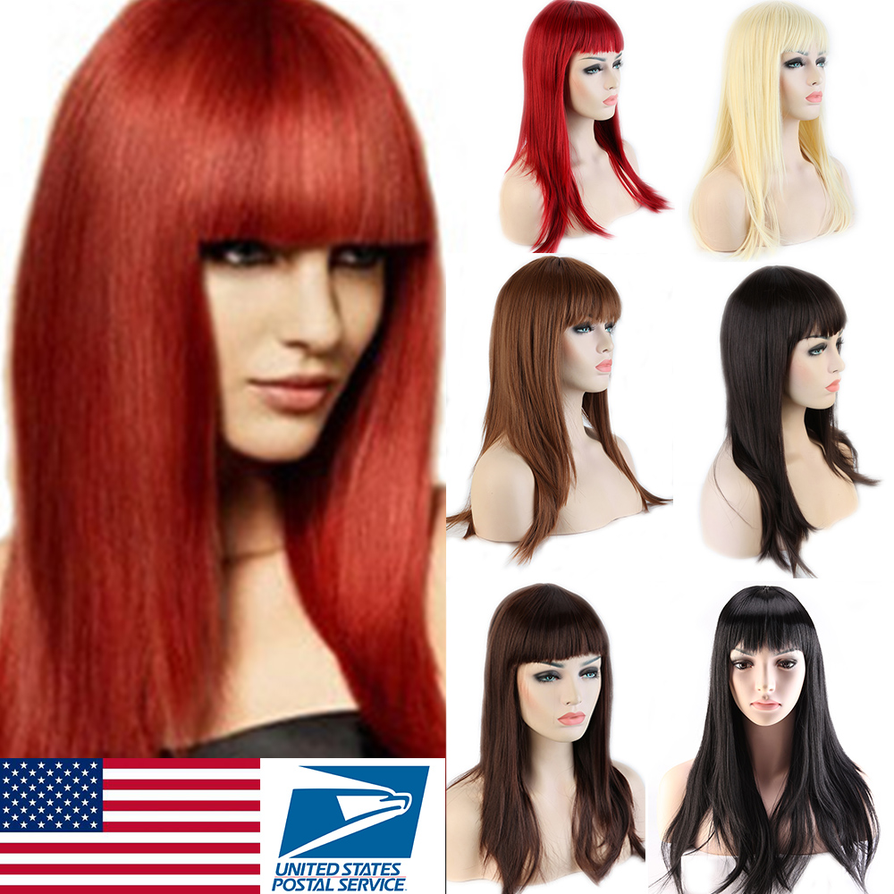 Dark Brown And Blonde Wigs 34