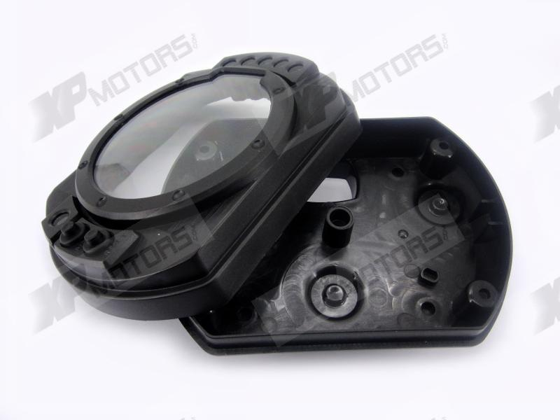 New ABS Plastic Speedometer Gauge Case Cover Tachometer For Kawasaki Ninja ZX6R 2003 2004 2005 2006