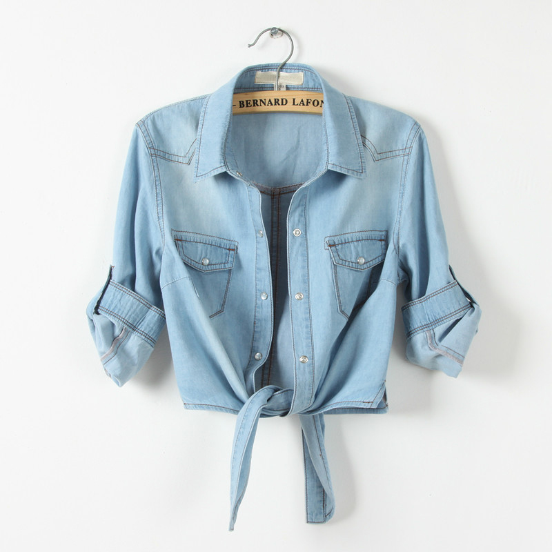 Online Get Cheap Half Sleeve Denim Jacket -Aliexpress.com ...