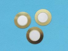50pcs 27mm Thickness 0.33mm Copper Piezo Disc for Buzzer Pressure Sensor Speaker DIY Electronic(China (Mainland))