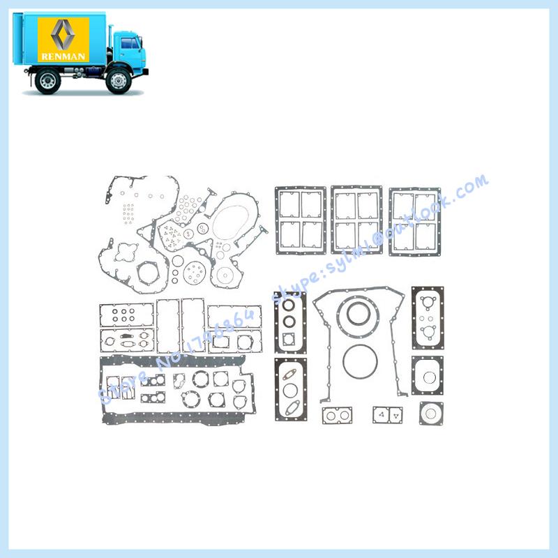 Kta38 kit de vedação superior, Auto peças do motor kit de reparo do turbocharger China fabricar 3801719(China (Mainland))