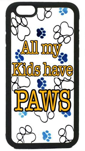 Paws Paw Pattern Cute Dog Cat cell phone cover case for Iphone 4S 5 5S 5C 6 Plus Samsung galaxy S3 S4 S5 S6 S7 Note 2 3 4 5(China (Mainland))