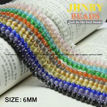 Buy JHNBY Natural Stone Chatoyant Cat's eye Stone cymophane Round Loose beads Opals glass ball 6MM 50PCS Jewelry bracelet Making DIY Store) for $1.99 in AliExpress store