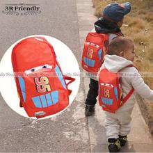 HOT SALE  Cars School bag Children backpacks kids Boys Girls baby bags kindergarten school backpack(China (Mainland))