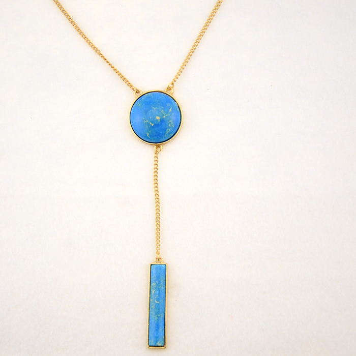 product SG0301 /sweet girl jewelry / article fine King Stone inlaid personality Long Necklace