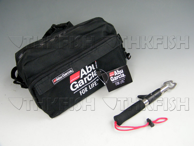 (Buy 1 Get 1) Lip Grip With ABU GARCIA Waist Tackle Bag pockets Fishing Tool set<br><br>Aliexpress