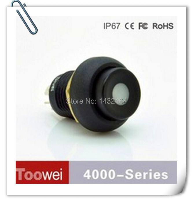 100pcs waterproof push button switch Momentary Dot Symbol led light IP67<br><br>Aliexpress