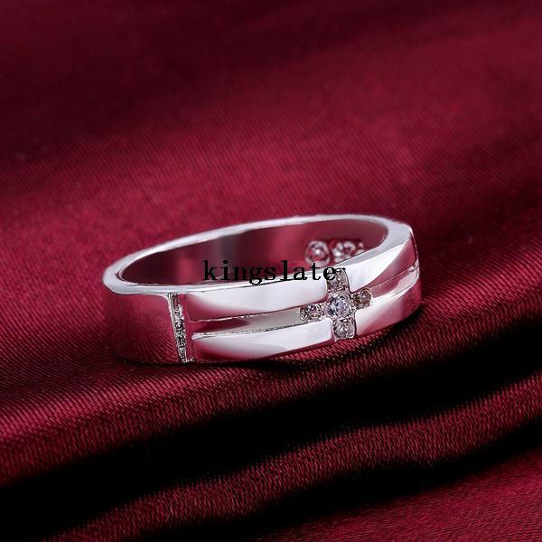 Крестики 925 серебро кольца список инкрустированные кристалл ювелирные изделия creative подарки