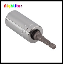 As seen on tv 3/8 socket Gator GRIP HAND TOOL multi-function Universal Socket wrench accessories 1 socket +1power drill adapter