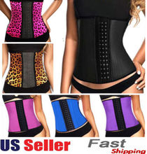 Latex waist cincher Sport latex Waist training corsets 9 steel bone corset slimming gaine amincissante waist trainer girdle Belt(China (Mainland))
