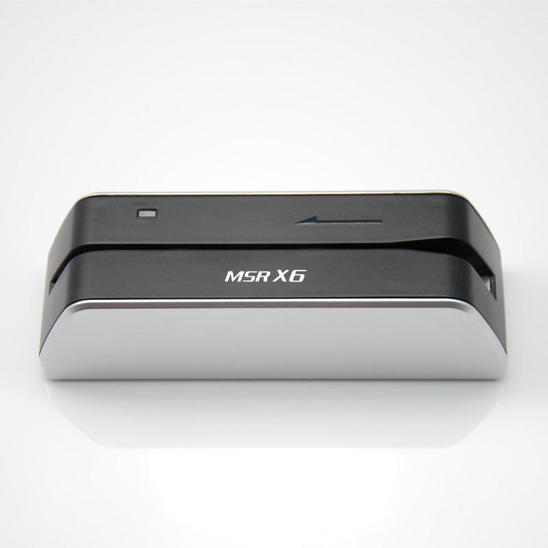 MSRX6 MSR X6 card reader smaller than msr605 msr606 msr609(China (Mainland))