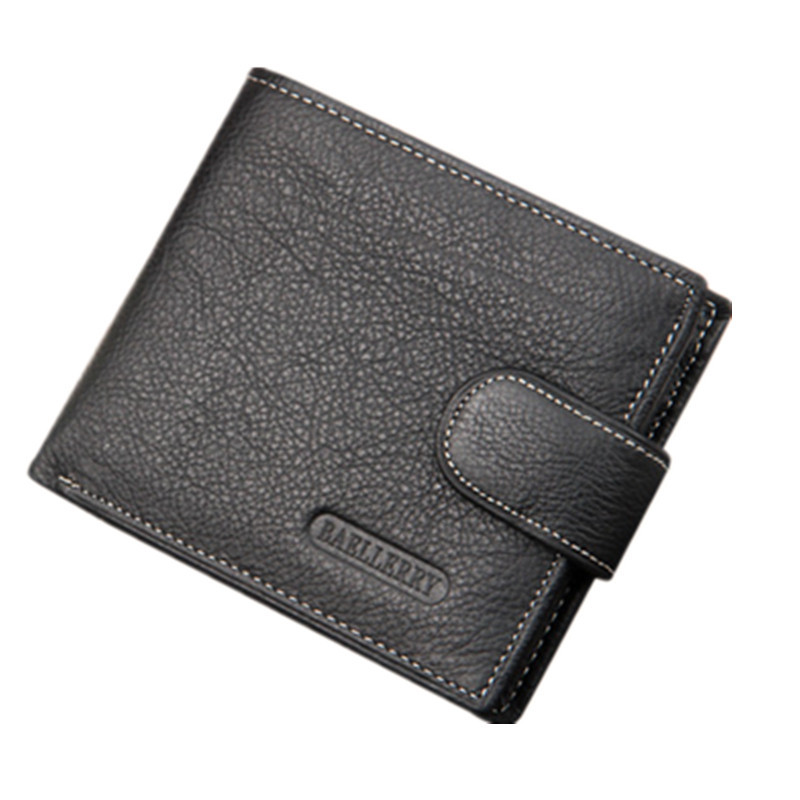 Wallet Bag 2016 Fashion Men Wallets Famous Brand Zipper Wallet Real Leather Mens Vintage Wallet Male Purse With Coin Bag(China (Mainland))