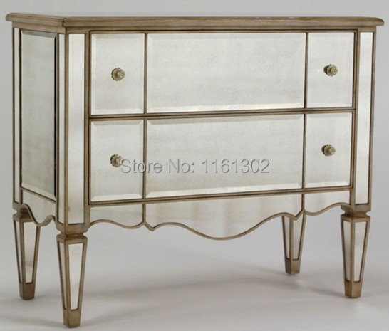 cheap mirrored chest of drawers 1