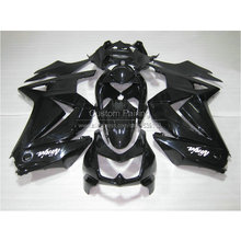 Buy Injection mold plastic Fairing kit Kawasaki ninja 250r 2008-2014 EX250 08 09 10 11 12 13 14 glossy black fairings RR15 for $335.80 in AliExpress store