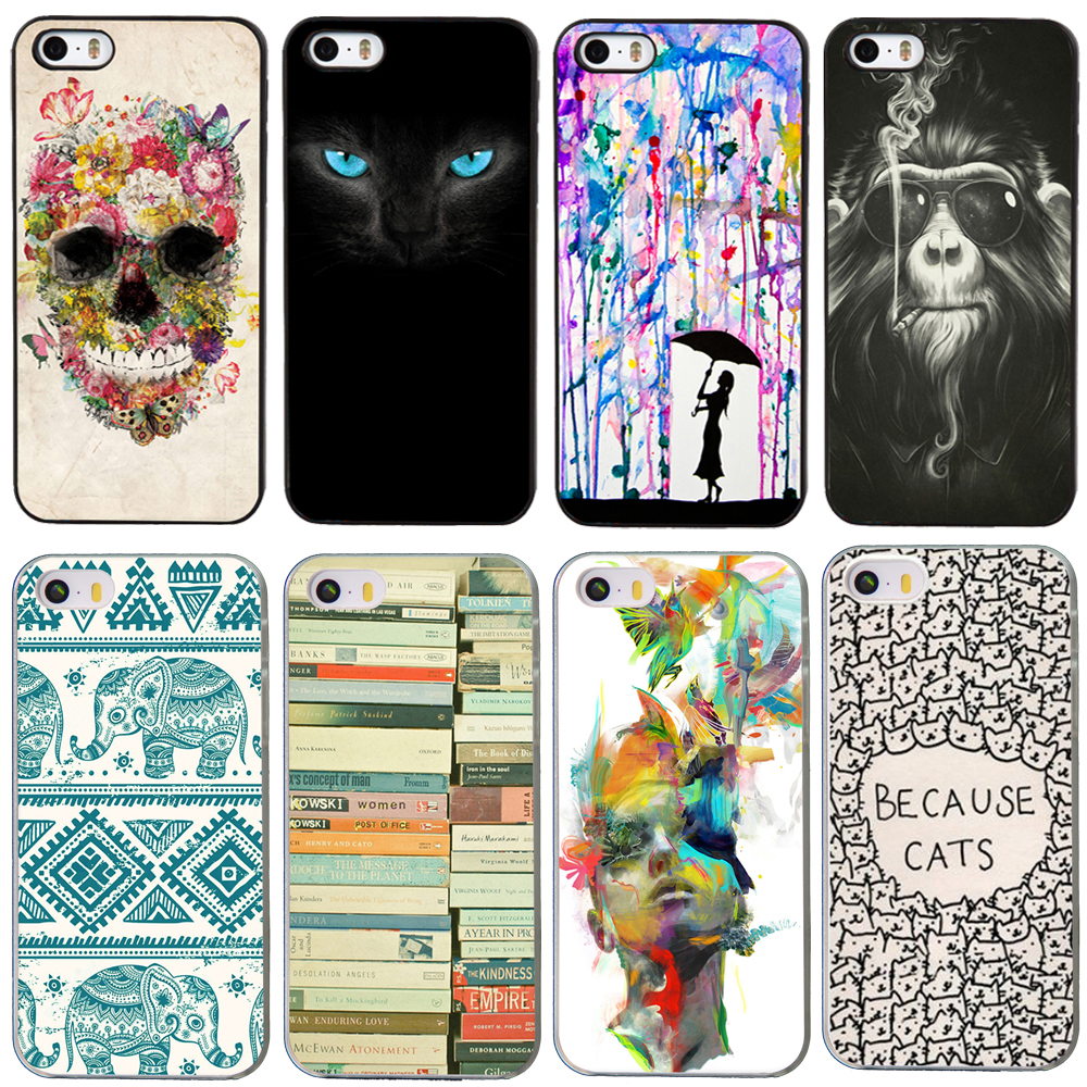 newest unique protective for iphone5 i phone case new fashion luxury hard back case for apple iphone 5 5s case(China (Mainland))