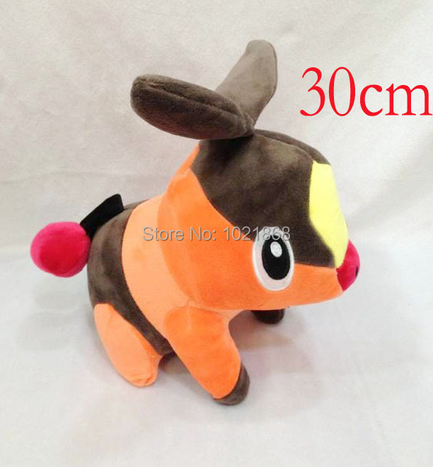 "Cartoon movie tv 12"" Pokemon Pocket Monsters stuffed toy soft plush doll cute pig gift toy(China (Mainland))"
