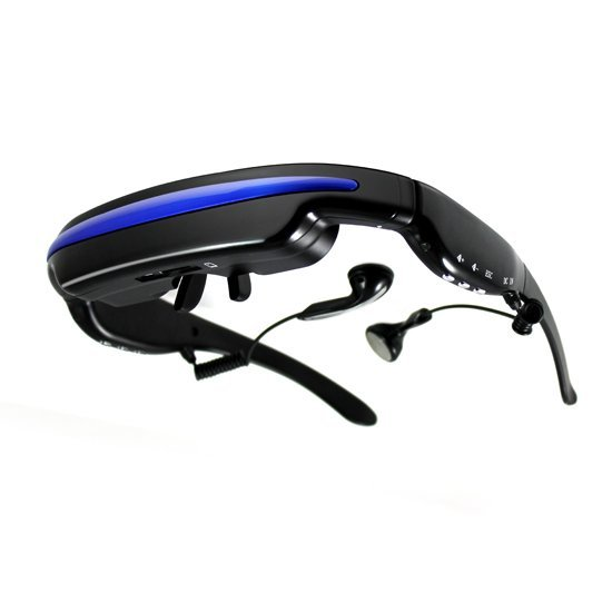 Wholesale Price Video Glasses,Video Eyewear with 52inch LCD Screen ,Built in 4gb Memory ,external card slot max 32GB