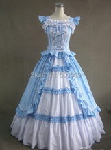 Medieval Renaissance Gown  Dress french maid Costume Victorian Gothic Lo/Marie Antoinette/civil war/Colonial Belle Ball
