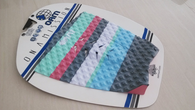 Free Shipping OAM Surf Pad Traction Surfboard Pads(China (Mainland))
