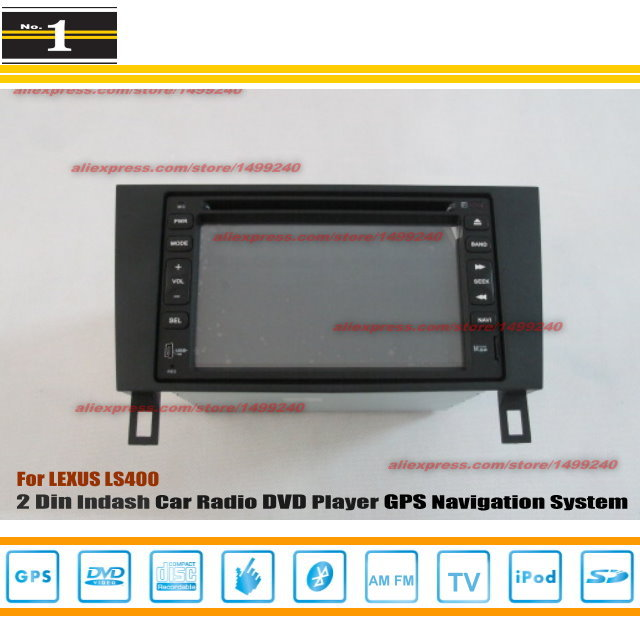 For LEXUS LS 400 1990~1997 - Radio CD DVD Player & GPS Navigation System / Double Din Car Audio Installation Set(China (Mainland))