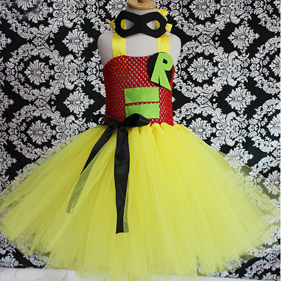 tutu fluffy halloween kids costume toddler tulle baby girl dress 2015 new ballet ball gown birthday dance fancy party SHH4007(China (Mainland))