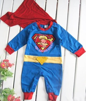 Retail Toddlers Bodysuit - Hot Sale Baby Rompers Cotton Superman Romper Boys Clothing (HO-43)