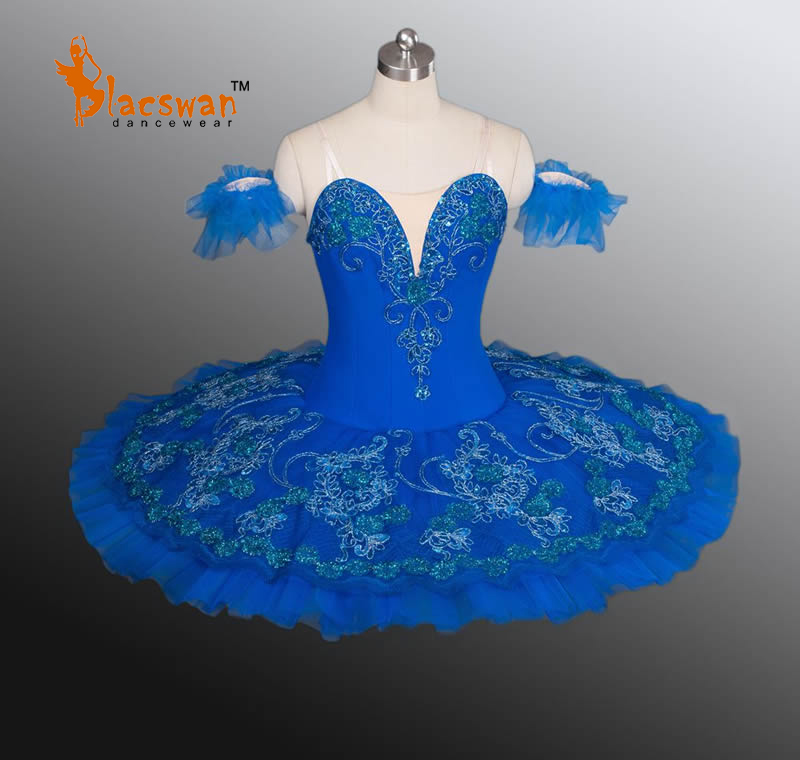 Blue Professional Ballet Tutu Dress BT876 Girls Ballerina Classical Kids - Guangzhou Blacswan Dance & Activewear Co., Ltd. store